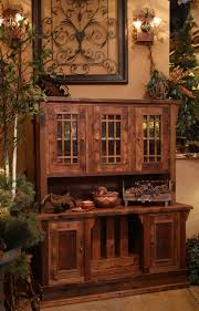 barnwood buffet with hutch rustic wood hutches wooden sideboard furniture