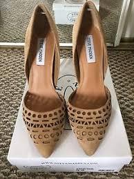 Steve Madden Glendale Steve Madden Shoes Vanessa Sand Suede 9 5 Ebay