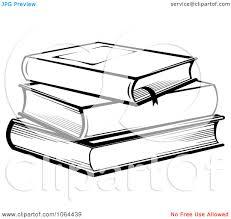 of books panda free images stackofbooksclipartblackandwhite
