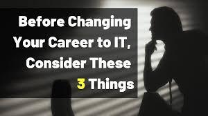 Career Changer Career Changer It Ology