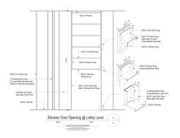 door jamb detail plan. 09 21 16.23.3910 Shaft Wall Lobby Elevator Door Elevation Jamb Detail Plan A