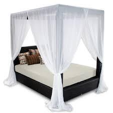 Outdoor Sun Bed With Canopy   Wayfair