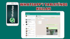 WhatsApp Web Tablette Nasıl Kullanılır? - YouTube