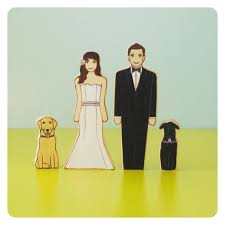 Fine Dog Cake Toppers For Wedding Cakes Component Real Weddings