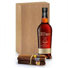 ron zacapa gift set with cigars