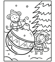 Holiday Coloring Pages Free Printable Holiday Coloring Pages For