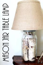 jar table lamp mason jar table lamp diy image inspirations jar table lamp ginger