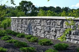 redi rock wall rock retaining walls rock of central redi rock wall with fence redi rock