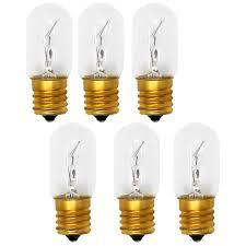 Ebay Light Bulbs Details About 6 Pack Light Bulb For Whirlpool Wmh2175xvb2 Mh1170xsq0 Mh1160xsq1 Mh2175xss1