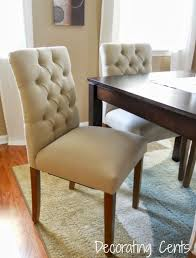 low back dining chairs. Dining Room : Casual Chairs Low Back Leather With Nailheads Button Tufted Chair