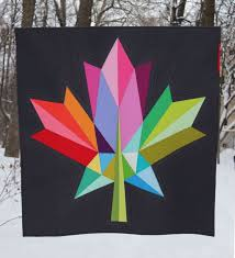Oh Canada! Maple leaf Quilt Pattern and Aurifil Canada 150 Thread ... & The quilt was also on display in the Janome booth at Quilt Canada in June  in Mississauga, Ontario. Adamdwight.com