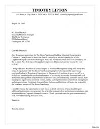 Retail Manager Cover Letters Resume Store Letter Example Samples 15