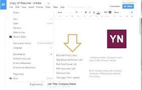 Resume Format Google Google Doc Modeles Cv How To Download A Google Docs Resume Template