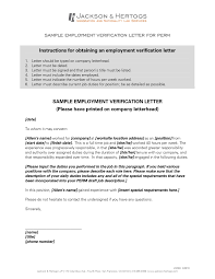 employment dates verification employment verification letter fresh example letter employment