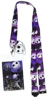 Disney Tim Burton's The <b>Nightmare Before Christmas</b> Jack Lanyard ...