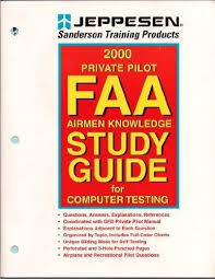 Jeppesen Chart Study Guide Private Pilot Faa Airmen Knowledge Study