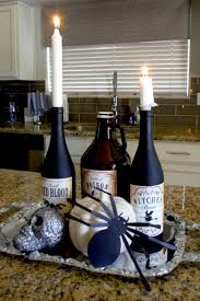 Wine Bottles Decoration Ideas DIY Halloween Decorations using empty wine bottles 85