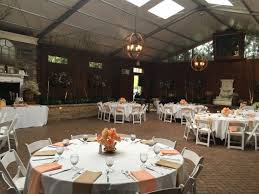 hamilton hilton garden inn hamilton nj reception hall setup reception hall setup reception tables with orange decor