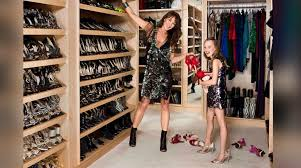 the jimmy choo co founder recently listed her fashionable upper east side on the market for 27 million her walk in master closet has a