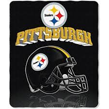 Pittsburgh Steelers Throw Blanket