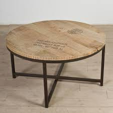 Industrial Round Coffee Table Reclaimed Wood Round Coffee Table Round Coffee Table Industrial