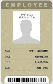identity card size 8 best professional design vertical id card templates microsoft