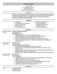 Resume Specialist Best Software Example Livecareer Specialists