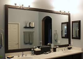 bathroom gorgeous gold framed mirror ideas on light regarding mirrors framed bathroom mirror ideas59