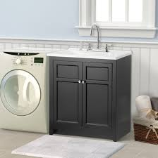 Double Bathroom Sink Cabinet Bathroom Minimalist Laundry Room Combined With Elegant Small