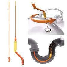 slim drain weasel hair removal anti clog tool flexible twist wand sink bathtub