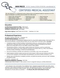 resume template sample resumes medical assistant resume template microsoft word