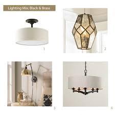 brass lighting fixtures. how to select light fixtures brass mood board lighting b
