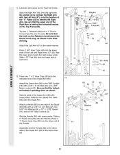 Weider 8530 Weight Chart Weider 8530 Home Gym Manual Loststuff