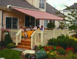 custom retractable awnings motorized awnings for decks l91