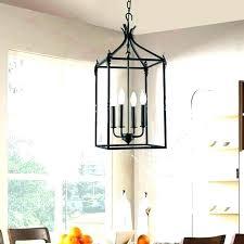 large lantern style chandelier surprising