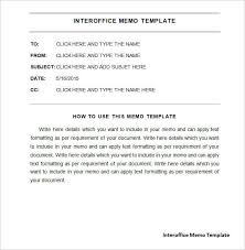 Sample Internal Memo Template Inspiration Interoffice Memo Templates Word Templates Docs