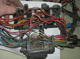 replacing fuse box view of the fuse box split apart you can see the larger feed wires powering multiple fuses