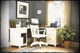 simple office decorating ideas. Home Office Furniture Ideas Decorating Simple Painting Blue