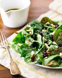 green salad with balsamic vinaigrette