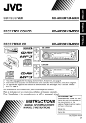 jvc automotive audio video manuals com jvc g300 instruction manual