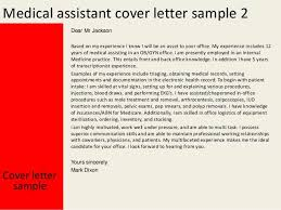 Medical Administrative Assistant Cover Letters No Experience Resume