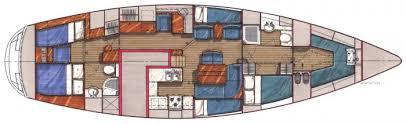 Billedresultat for 42 foot sailboat interior