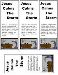 Jesus falls asleep during a huge storm, while his disciples fear for their. Jesus Calms The Storm Sunday School Lesson