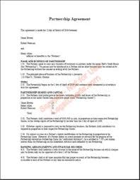 Partnership Agreement Template | Microsoft Word Templates ...