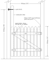 picket fence drawing. Build An Arbor Above Gate Put Latch On It Up High To Make Short How Picket Fence Drawing