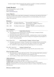 Career One Resume Template 1 Page Resume Example Cornell Career