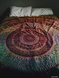 tapestry bedding colorful boho mandala top boho bedding in bedding home accessory coat blanket cover boho chic bedding bedroom