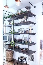 pantry shelves diy wooden open pantry shelving building pantry