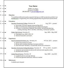 Resume Format Work Experience Templates Work Experience Resume