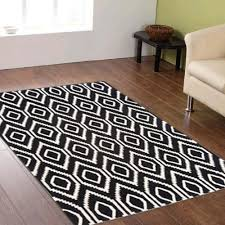 madras handmade flat weave rug